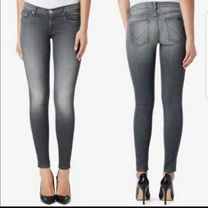 Hudson Krista Super Skinny Jeans in Gray Size 26